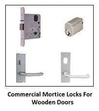 Marsden Park Locksmiths provides commercial mortice locks for wooden doors.